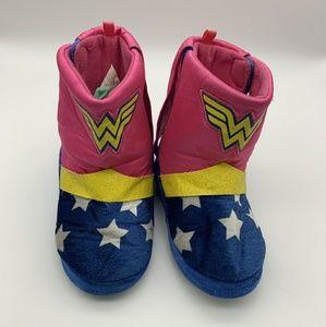 Wonder Woman Girl Boots Sz: L 9-10